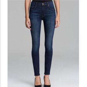 Hudson Barbara High Waisted Supper Skinny Jeans